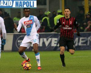 Napoli-Milan in streaming