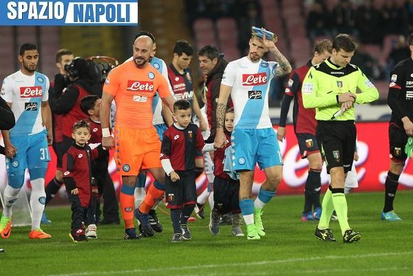 Real-Napoli, Miguel Reina: