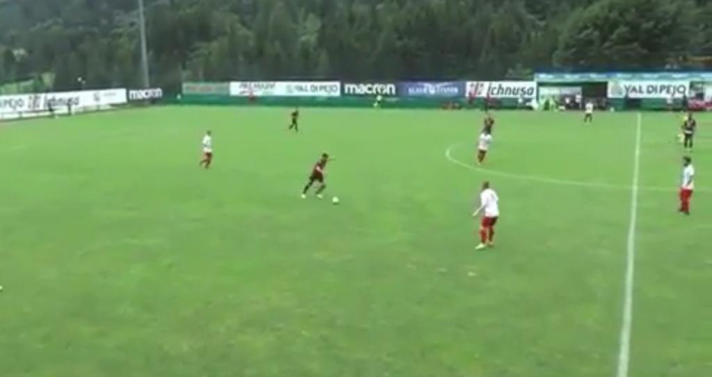 VIDEO - Cigarini, che magia nell'amichevole contro il Real Vicenza!