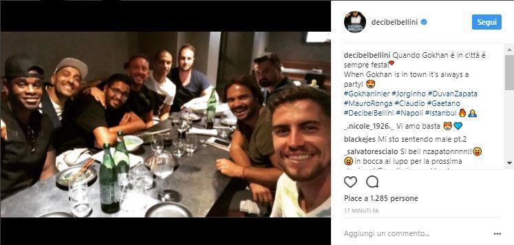 VIDEO - Inler torna a Napoli ed è subito festa con Jorginho