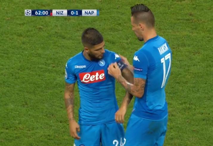 Napoli, Hamsik chiede un favore
