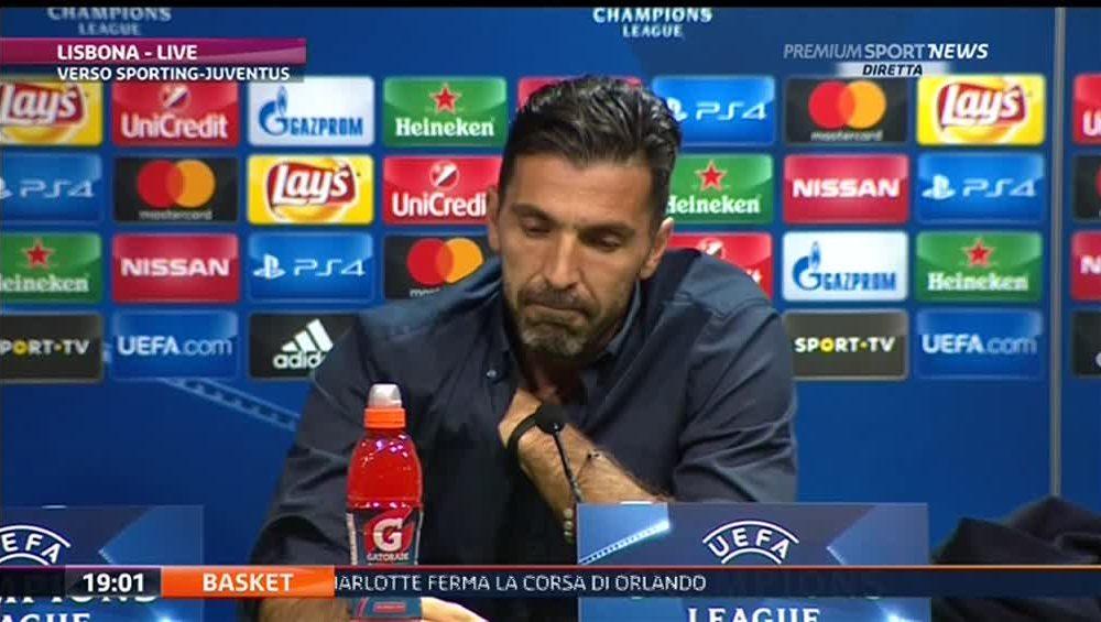 Buffon: non vogliamo essere come il Napoli