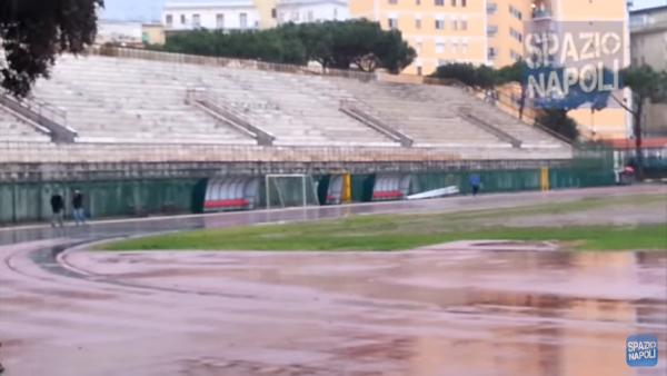 Il Mattino - Ferrara e Cannavaro, Il futuro dello stadio Collana ora è un caso