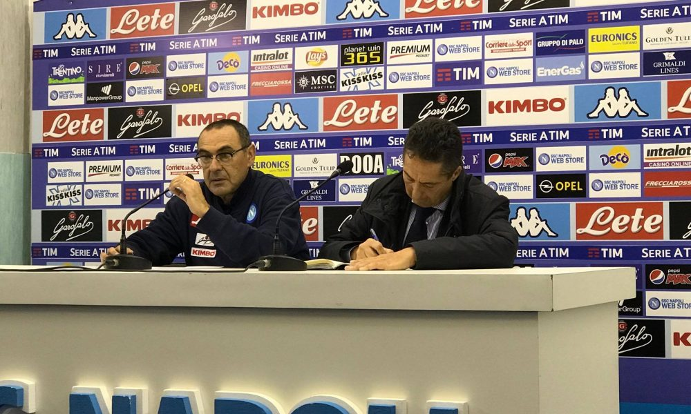 Napoli-Udinese, Sarri: