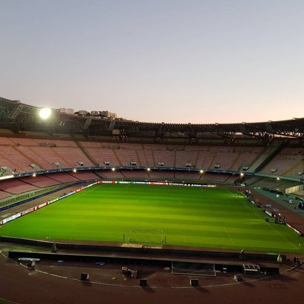 Visuale Curva B Stadio San Paolo