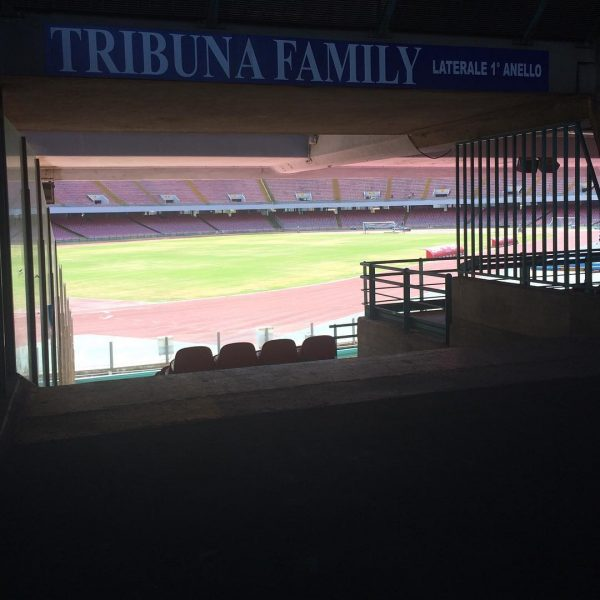 Visuale Tribuna Family San Paolo Napoli