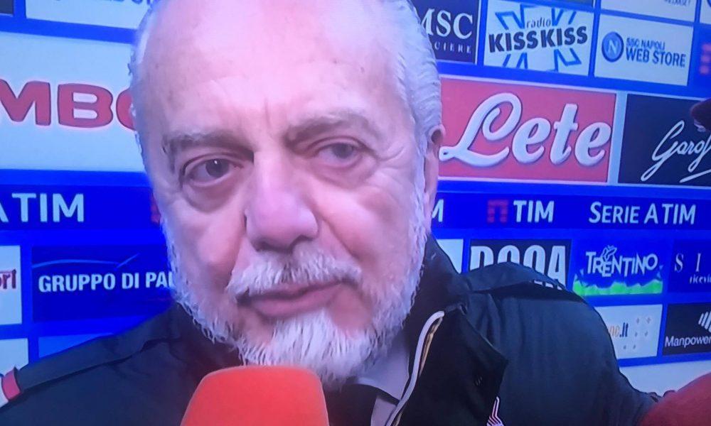 Napoli-Juventus, Higuain esulta e indica la tribuna: De Laurentiis nel mirino?