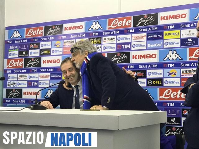 Sampdoria, Ferrero show: