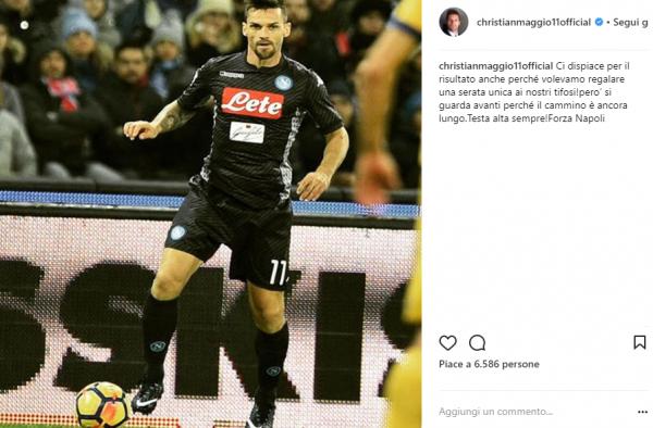 FOTO - Maggio e il messaggio per i tifosi dopo ieri: