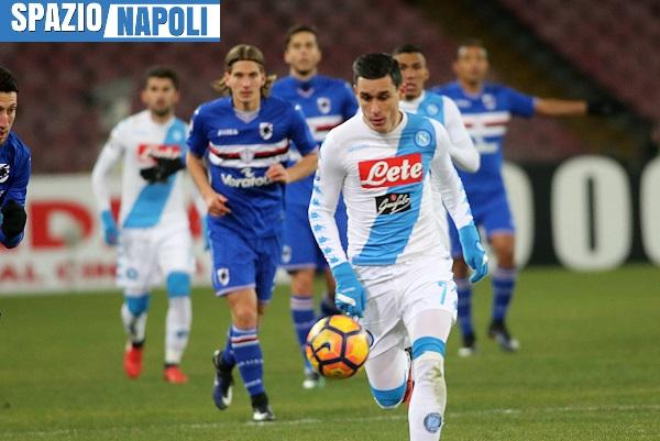 Come vedere Napoli-Sampdoria in diretta tv e live streaming