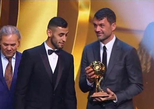 Napoli, Ghoulam Pallone D'Oro Algeria: