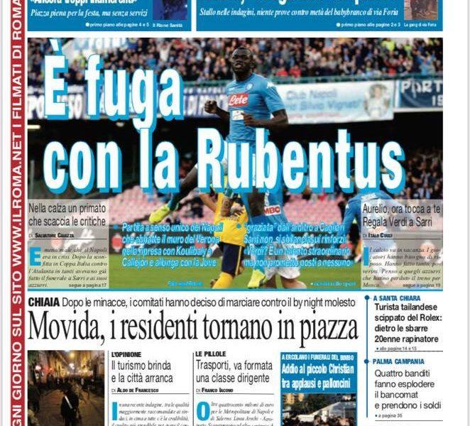 'E' fuga con la Rubentus', il Direttore risponde alle accuse: 'E' satira'
