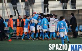 Chievo-Napoli: 1-2: tre punti importantissimi per gli azzurrini, decidono Mezzoni e Palmieri