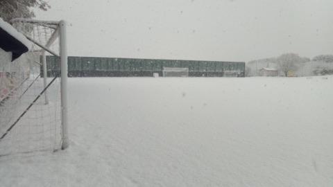 Neve anche a Castelvolturno. Salta l'allenamento mattutino