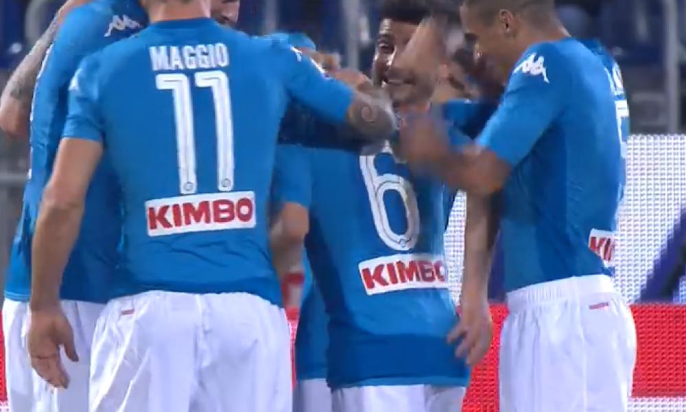 Cagliari-Napoli, 0-1: Callejon porta avanti gli azzurri su assist di Allan