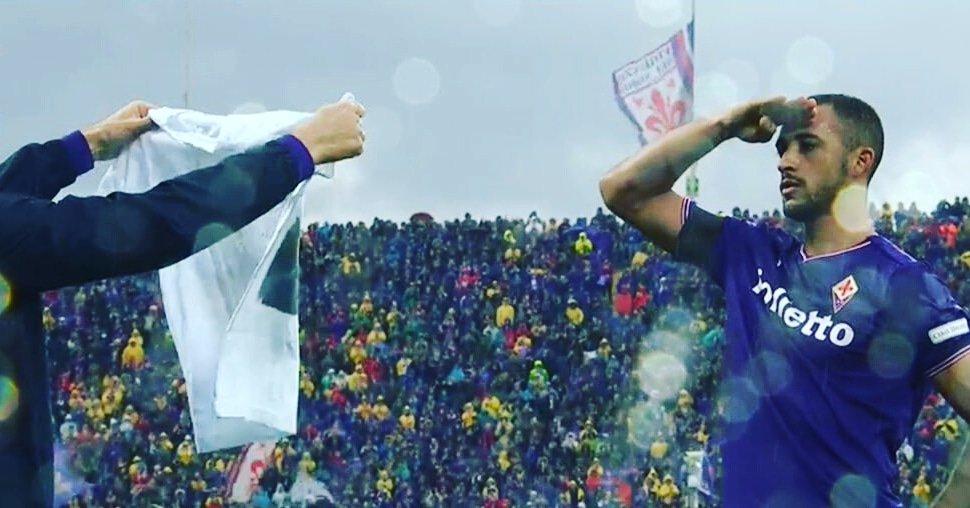 Fiorentina-Benevento 1-0, Victor Hugo segna ricordando Davide Astori
