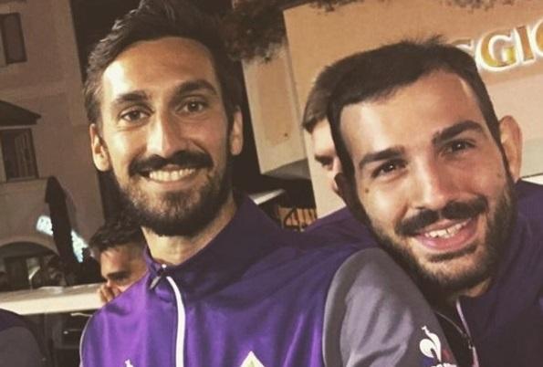 Morte Astori, l'omaggio della Fiorentina al 'Franchi'