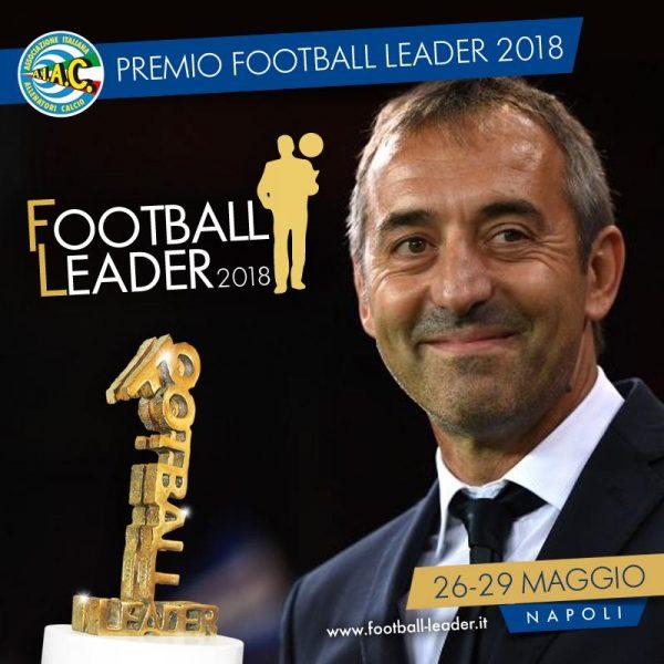 Football Leader 2018, premi per Giampaolo e Tare