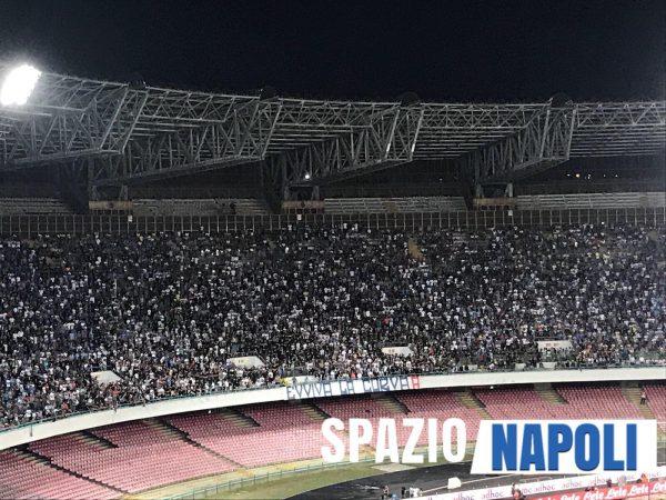 Napoli-Fiorentina, insulti continui dalla curva A contro De Laurentiis