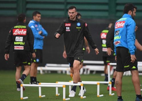 Napoli, seduta mattutina in vista della sfida contro la Sampdoria (31/8)