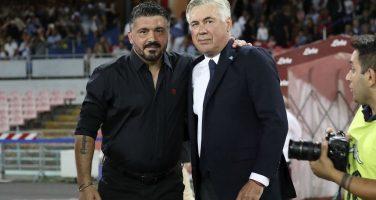 RAI – Gattuso andrebbe a Napoli a piedi, fiducia ad Ancelotti solo per le prossime tre gare!