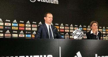 """Allegri in conferenza: """"Importante affrontare il Napoli con lo stesso distacco di punti attuale. Atletico? Proveremo a ribaltarla"""""""