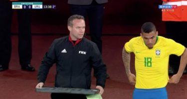 """FOTO – Il Brasile elogia Allan: """"La prima volta non si scorda mai"""""""