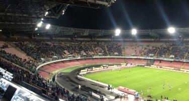 Napoli-Zurigo, San Paolo ancora vuoto: previsti non più di 20mila spettatori