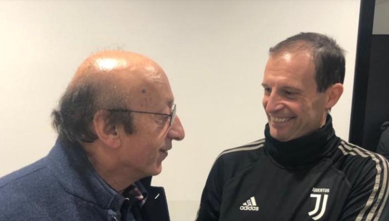 Moggi torna alla Juve: l'ex dirigente in visita alla Continassa