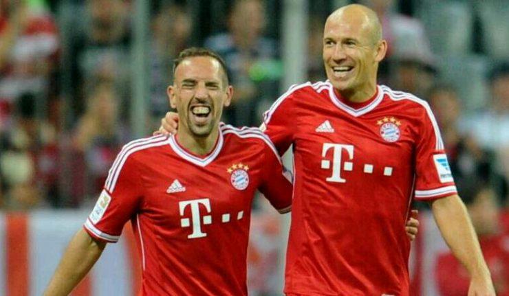 Bayern, finisce l'era Robben: via a giugno (insieme a Ribery)