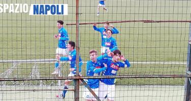 GIOVANILI – Gioia per il Napoli Under 15: vittoria contro il Palermo e qualificazione alla final four Scudetto!