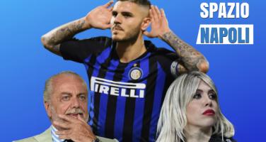 """Icardi al Napoli, CorrSport svela: """"Contatto ADL-Marotta! L'Inter lo valuta 70 milioni"""""""