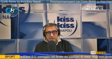 "Alvino a Radio Kiss Kiss: ""Rodriguez e Manolas operazioni fattibili, ma richiedono tempo"""