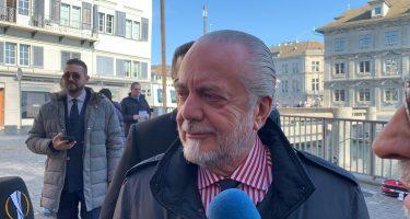 Riunione in casa Napoli, a Castel Volturno è presente anche il presidente De Laurentiis