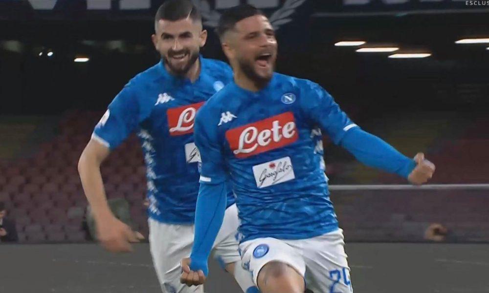 Napoli, Insigne nella lista di Sarri Cè anche lui per sostituire Hazard