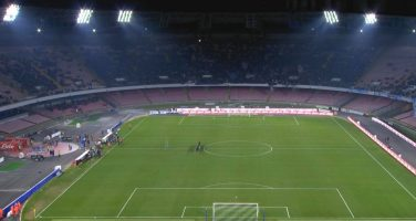 Il San Paolo ancora vuoto. Anche contro lo Zurigo meno di 20 mila spettatori paganti