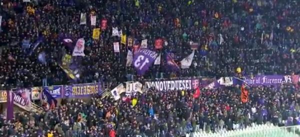Fiorentina-Napoli - Solita vergogna: