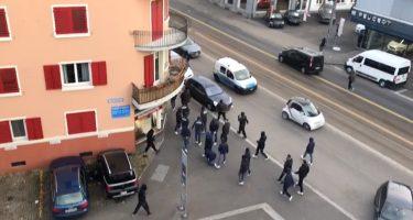 Ansa – Napoli-Zurigo: armi, fumogeni e petardi sequestrati ai tifosi svizzeri!