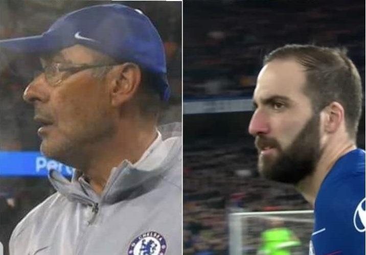 Sindrome Higuain: ha fallito al Chelsea, puo' seguire Sarri alla Roma?