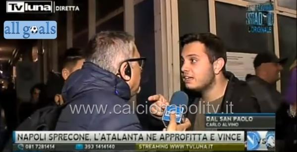 VIDEO - Acceso diverbio tra Alvino ed un tifoso:
