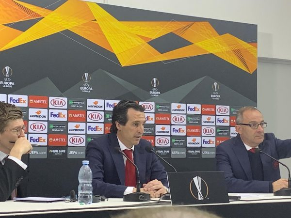 Emery in conferenza: