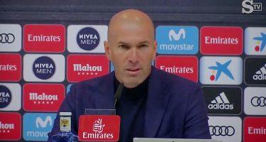"""Real Madrid, Zidane in conferenza: """"James? È un nostro giocatore, ora è in vacanza, vedremo cosa succederà"""""""