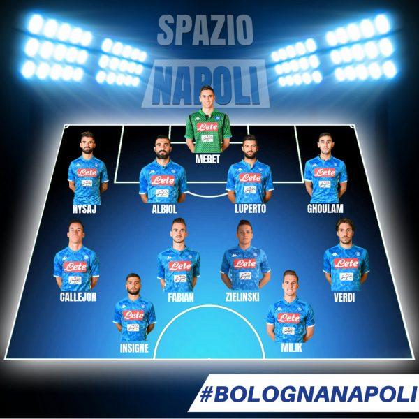 Probabili Formazioni Bologna Napoli