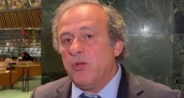 ULTIM'ORA – Michel Platini è stato arrestato