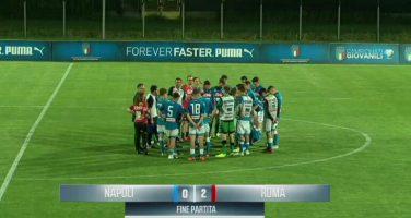 Under 15, Napoli-Roma 0-2 (6′, 12′ Pagano): infranto il sogno Scudetto!