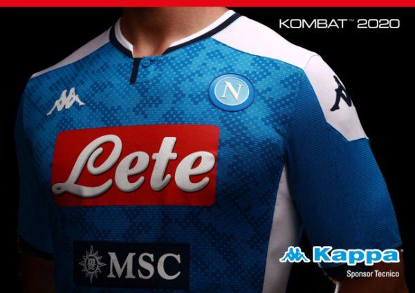 Rivoluzione Napoli, nuova maglia senza sponsor, disegnata da Armani