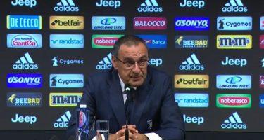 """Sarri: """"Ammutinamento Napoli? Ancelotti e Giuntoli sapranno gestire la situazione"""""""