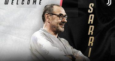 Sarri nuovo allenatore della Juventus: giovedì alle 11 la presentazione ufficiale all'Allianz Stadium