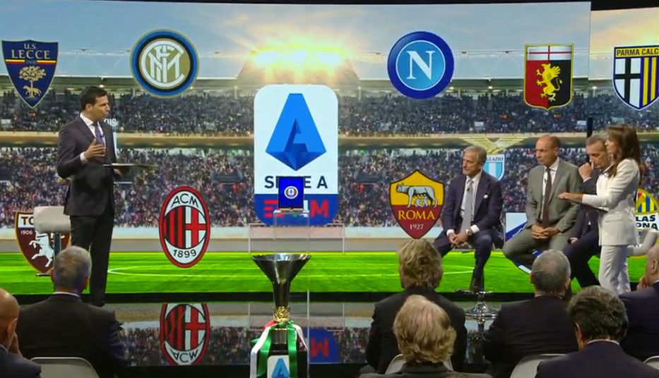 Calendario Serie A Seconda Giornata.Sorteggio Calendario Serie A 2019 2020 Juventus Napoli Alla