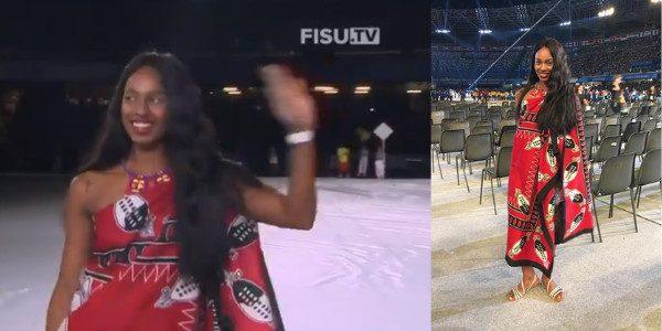 Ha incantato il San Paolo al suo passaggio, chi è l'atleta del Regno di Eswatini che è già Miss Universiadi
